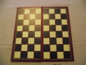 In case you had forgotten what a chess board looked like :)