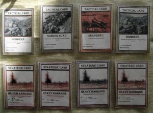 The British cards