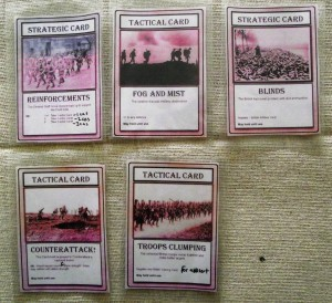 The German cards