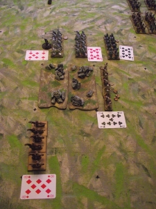 First Roman left hand command move