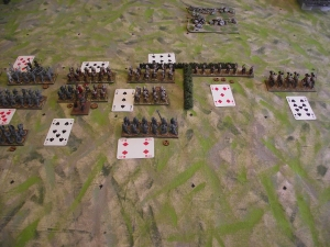 Roman right hand command first move