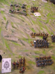 British left hand command first move (such as it was)