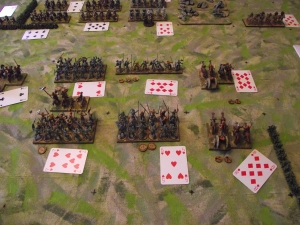 British right hand command first move