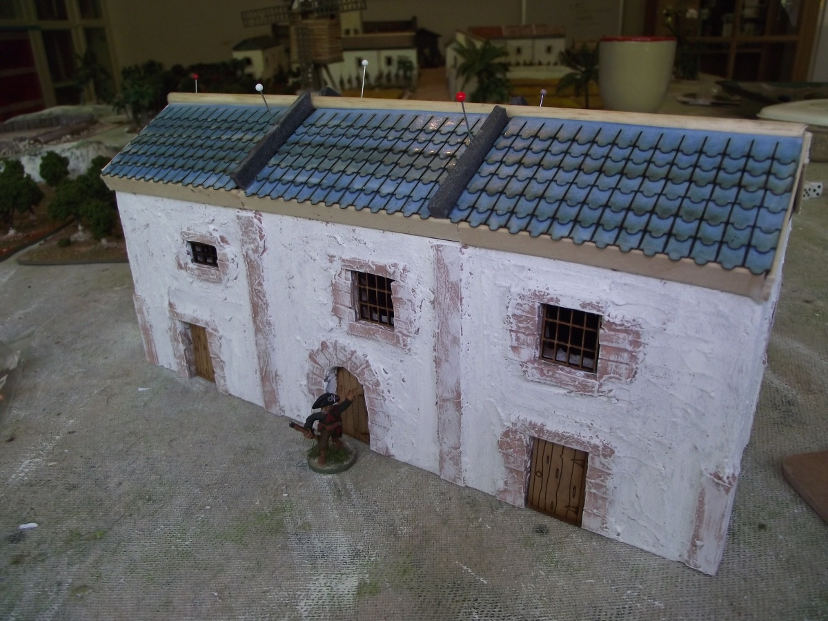 Building the Spanish Town for Sharp Practice Part 3